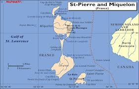 map of st and miquelon hrw world atlas st and miquelon