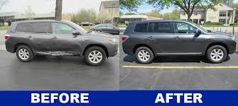 Car Collision Estimate by Toyota Highlander Repair Downers Grove Auto Rebuilders