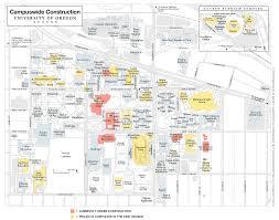 Oregon Campus Map by Oregon Quarterly