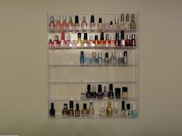 clear acrylic nail polish table display rack acrylic nail polish