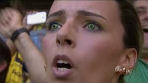 Packer Flags Brazil Fan Has Flags On Her Eyeballs Sbnation Com
