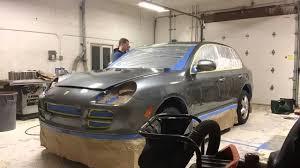 2004 Porsche Cayenne S - raail airwrap applied to a 2004 porsche cayenne s youtube