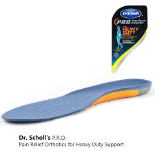 Dr Scholls Foot Mapping Dr Scholl U0027s P R O Pain Relief Orthotics For Heavy Duty Support