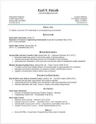 Resume For Current College Student Freshman Resume College Displaying 17 Images For College Current