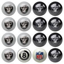 pool table accessories amazon oakland raiders pool ball set