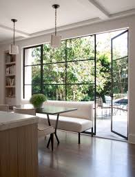 Windows To The Floor Ideas Design Ideas Area In A Kitchen With Floor To Ceiling