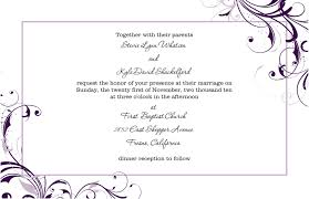 wedding programs sles wedding invite formats template business