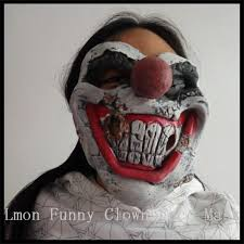 Halloween Clown Costumes Scary Aliexpress Buy Halloween Party Cosplay Funny Halloween Latex