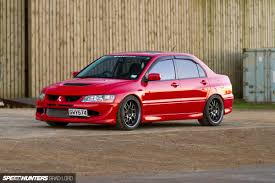 mitsubishi evo 8 red kickin u0027 and taking names speedhunters