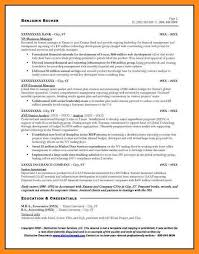Financial Services Resume Template Sample Resume For Financial Services Sample Resume For It
