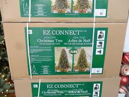 ez connect 7 5ft prelit led tree costco our home