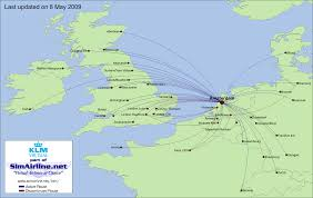 Turkish Airlines Route Map by Klm Virtual Destinations