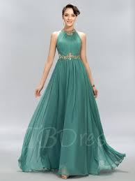 tb dress ruched beading a line evening dress tbdress