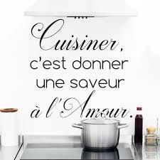 stickers cuisine citation sticker citation cuisine cuisiner c est donner une saveur