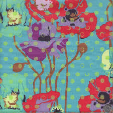 Anna Maria Horner Home Decor Fabric Anna Maria Horner Floral Retrospective Raindrops Poppies In