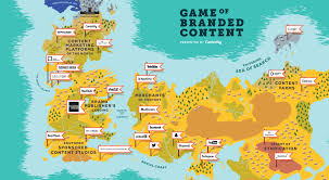 World Map Game A Game Of Thrones Style Map Of Content Marketing Ink Harmony