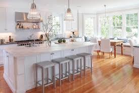 decorating kitchen island with santa cecilia granite countertop
