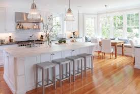 Kitchen Backsplash Ideas With Santa Cecilia Granite Of White Kitchens With White Appliances Voluptuo Us