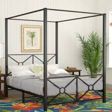 Iron Canopy Bed Frame with Canopy Beds