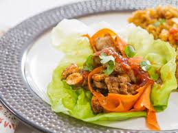spicy turkey lettuce cups with pepper jelly recipe trisha