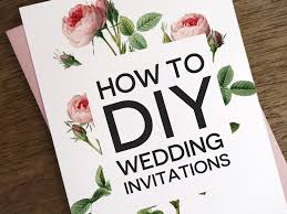 wedding invitations ideas diy wedding invitations diy cloveranddot