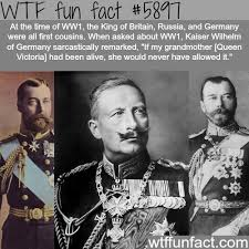 the king of germany and germany were all cousins