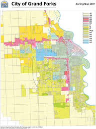Nd Map City Of Grand Forks Zoning Map