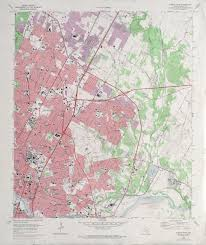 Austin Tx Zip Code Map Austin Texas Topographic Maps Perry Castañeda Map Collection