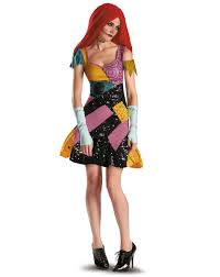nightmare before christmas sally glam deluxe womens costume