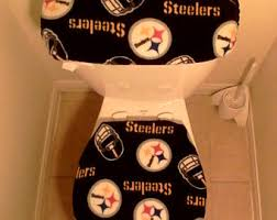 steelers bathroom etsy