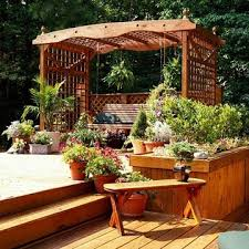 54 best deck with garden ideas images on pinterest gardening