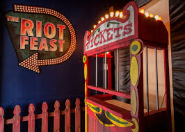 Riot Fest Chicago Map by Tour The Riot Fest Pop Up Hoping Carnival Food Keeps Punk Alive