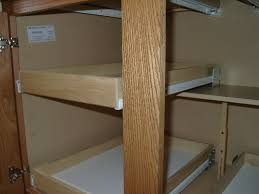 Kitchen Cabinets Slide Out Shelves by Custom Pull Out Shelving Soultions Diy Do It Yourself Shelves