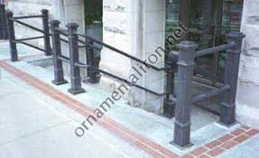railings by mueller ornamental iron works handicap rails