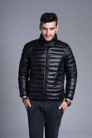 Plus Size Down Coats 2015 Mens Shirt Designs Duck Down Collar Casual Warm Coat
