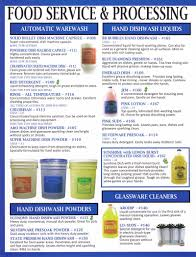 clawson supply inc food service processing cleaners