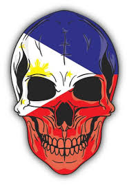 Flag Philippines Picture Skull Flag Philippines Sticker Decal Design 4 U0027 U0027 X 5 U0027 U0027 Awesome
