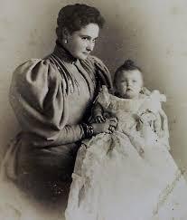 Russian Cabinet Royal Photographs Empress Alexandra And Grand Duchess Olga Of