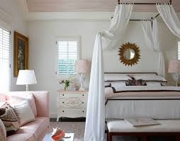 Draped Ceiling Bedroom Canopy Bed Bedroom Albert Hadley Bunny Williams Luxurious Bedding