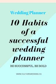 wedding planner resume sample wedding planner contract sample templates life hacks pinterest 10 habits of a successful wedding planner