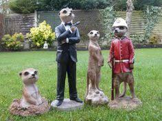 meerkat the mini meerkat family set 3 cast garden