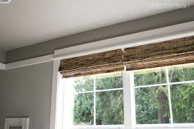 10 Inch Blinds Bamboo Blinds Kitchen Project The Inspired Room