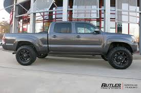 nissan tacoma toyota tacoma with 18in fuel hostage wheels exclusively from