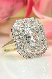 art deco engagement rings for fantastic look oh so perfect proposal