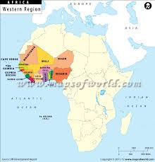 west africa map blank west africa map map of west africa west countries