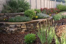 Backyard Corner Landscaping Ideas Landscape Stone Edging Design Landscape Stone Edging Ideas