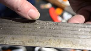 Kitchen Knives Made In America Old Hickory Knives Made In The Usa Sharpens Best Youtube