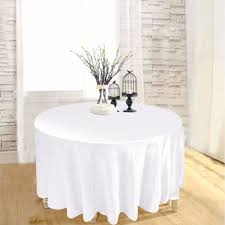 5pcs brands satin round table cloth new fashion tablecloth for