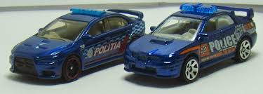 2015 mitsubishi rally car two lane desktop comparison matchbox rally police cars subaru