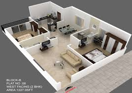 1227 sq ft 2 bhk 2t apartment for sale in green space housing the